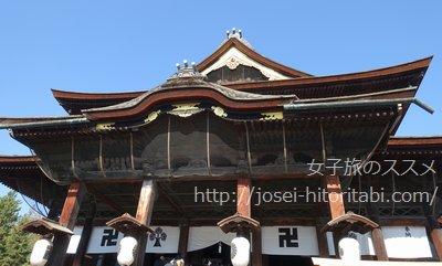 長野県の善光寺