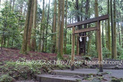 霧島神宮の山神社