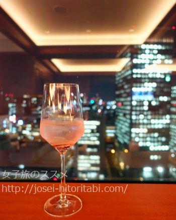 ANAクラウンプラザホテル大阪のクラブラウンジ