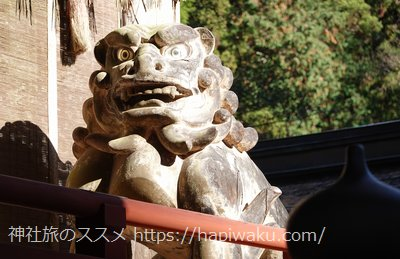 日吉大社の狛犬