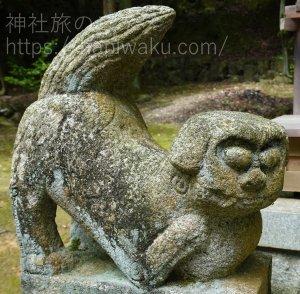 石鎚神社の狛犬