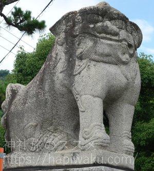 石清尾八幡宮の狛犬