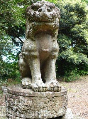 倉吉八幡宮の狛犬