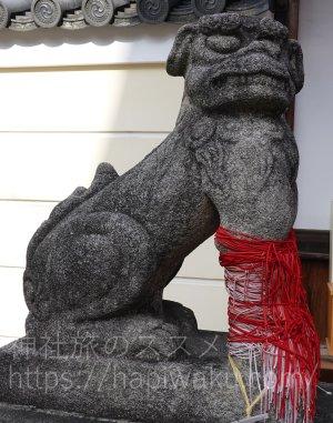 御霊神社の狛犬