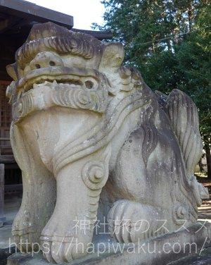 平柳星宮神社の狛犬